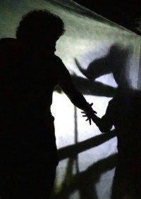 "Workshop ""Questions on the Minotaur"" Dramaturgy and Direction of Shadow Theatre"